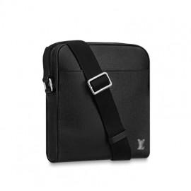 Top Quality Taiga Cowhide Leather Alex Messenger Bag