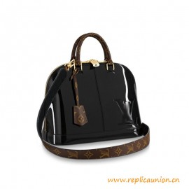 Top Quality Alma PM Patent Cowhide Leather