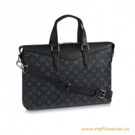 Top Quality Briefcase Explorer in Monogram Eclipse Canvas