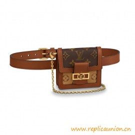 Top Quality Bumbag Dauphine Bag Removable Leather Belt