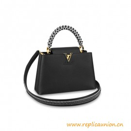 Top Quality Capucines PM Handbag is Made from Taurillon Leather