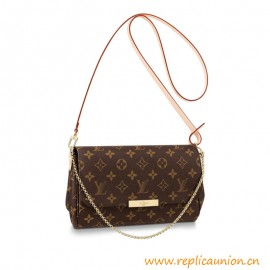 Top Quality Favorite MM Clutch in Monogram Canvas