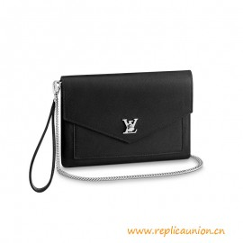 Top Quality Mylockme Pochette in Supple Calf Leather