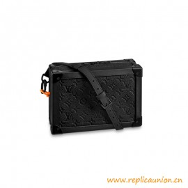 Top Quality Soft Trunk Absolute Black Leather