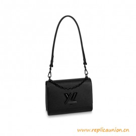 Top Quality Twist MM Epi Cowhide Leather All Black
