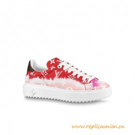 Top Quality Escale Time Out Sneaker Patent Monogram canvas