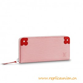 Top Quality Clemence Wallet Comes in Epi Leather