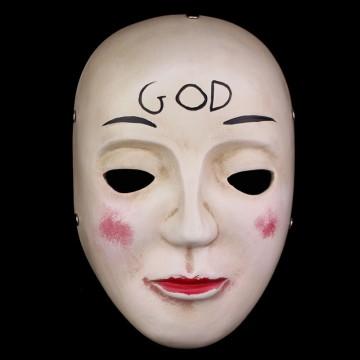 The Purge Anarchy 2 Mask God Resin Adult Unisex Mask