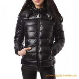 Top Quality Bady Short Puffer Down Jacket Black