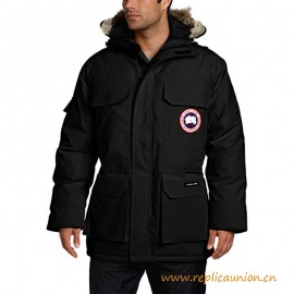 Top Quality Expedition Parka with Wolf Fur for Men