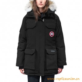 Top Quality Expedition Parka with Wolf Fur for Women