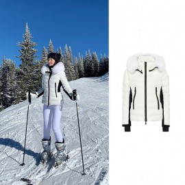Top Quality Lamoura Down Jacket in White Color