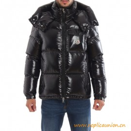 Top Quality Montbeliard Lacquered Nylon Puffer Jacket