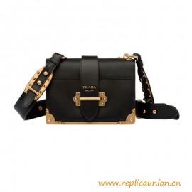 Top Quality Cahier Calf Leather Shoulder Bag Metal Hardware