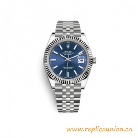 Quality Datejust 41mm Stainless Steel Blue Dial Watches