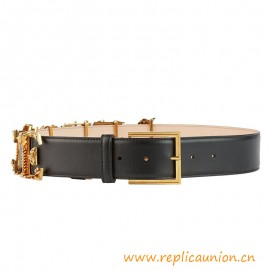 Top Quality Logo Belt Crafted in Exceptional Quality Leather
