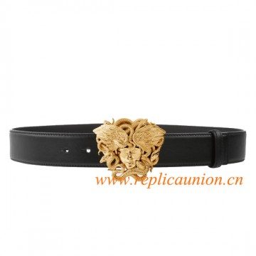 Original  Design Unique Vitello Winged Medusa Belt